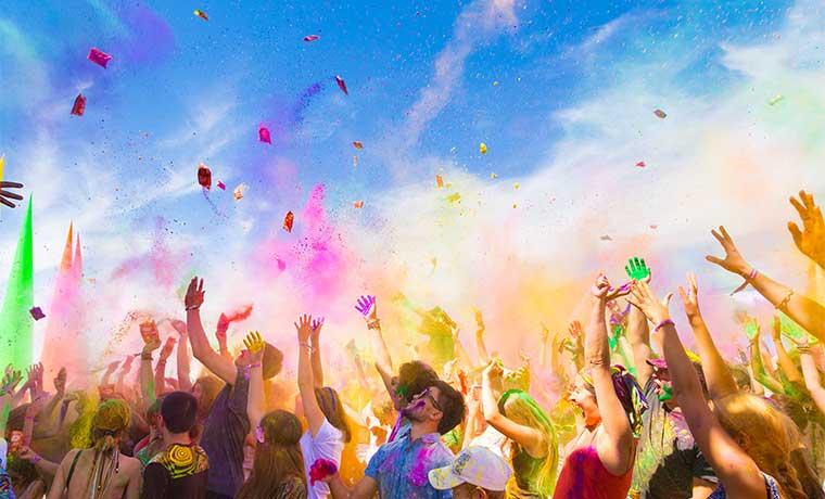 Comunidad india celebrará el Festival Holi