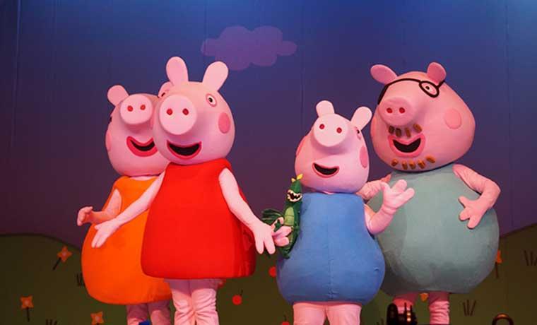 Show de Peppa Pig con 50% de descuento