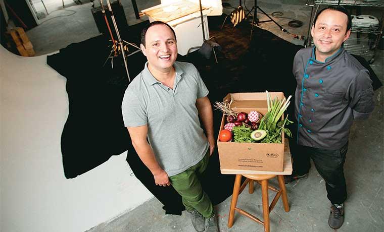 Emprendedores crean recetas y envían productos hasta su casa