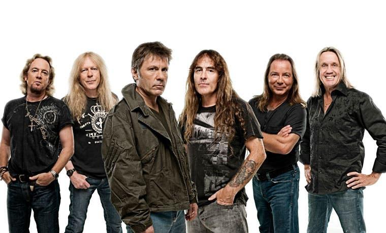 Iron Maiden ya está en el país