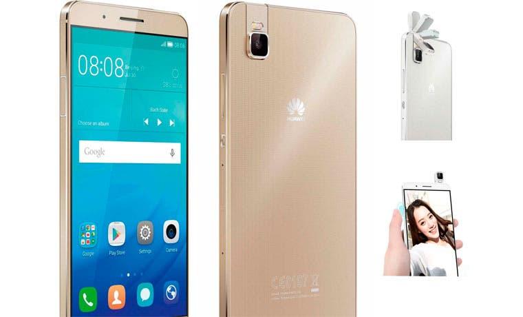 Ya llegó al país celular Huawei con cámara giratoria