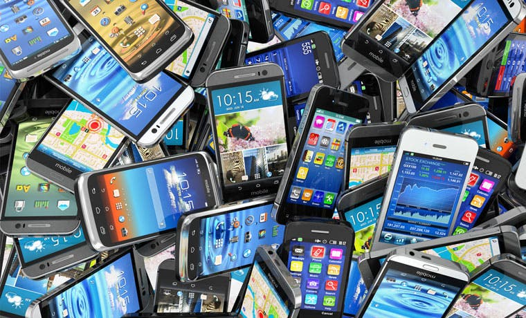 INS rematará lote de celulares