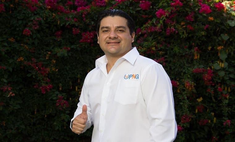 Sergio Mena del PNG lanza su precandidatura presidencial