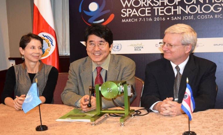 Donan a Costa Rica proyecto que mide microgravedad