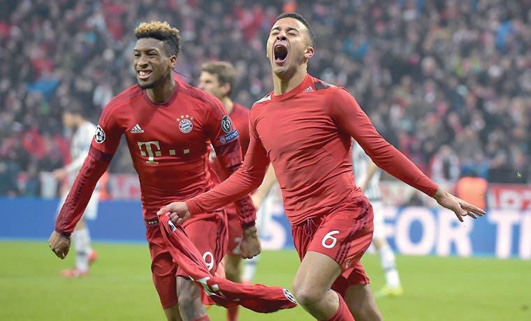 Bayern renace ante la Juve