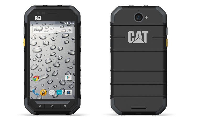 """CAT lanza celulares """"todo terreno"""""""
