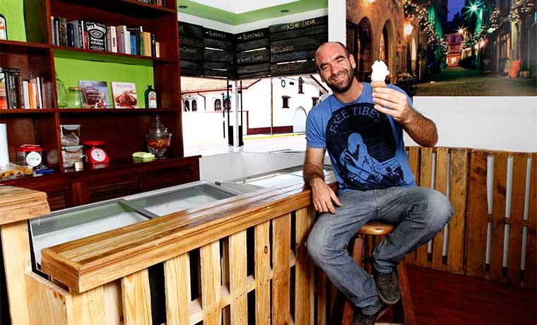 Galway endulza a sus clientes con helados de licor