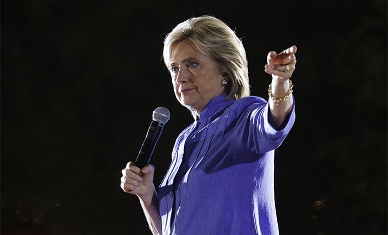 Ticos con Hillary Clinton