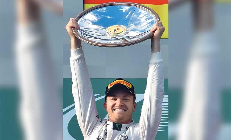 Rosberg estrena podio