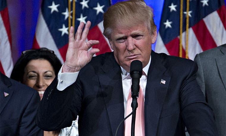 Efecto Trump trastorna economía de EE.UU.