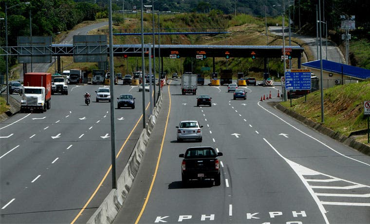 Ruta 27 tendrá carril reversible hacia Caldera este jueves