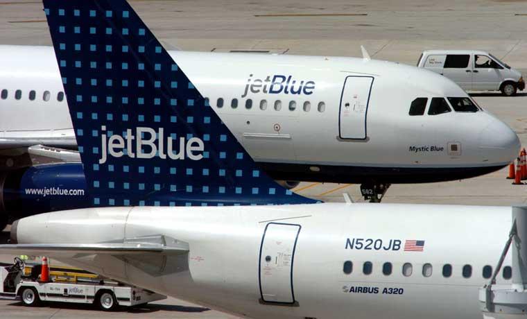 Jetblue solicitó rutas entre Estados Unidos y Cuba