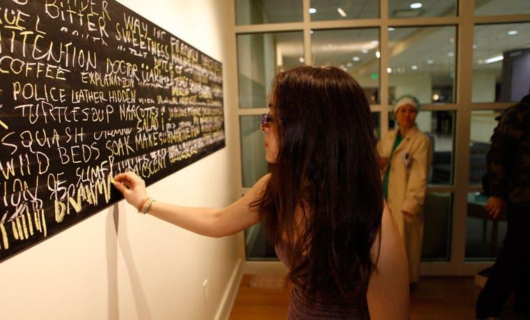 Arte participativo llega al país