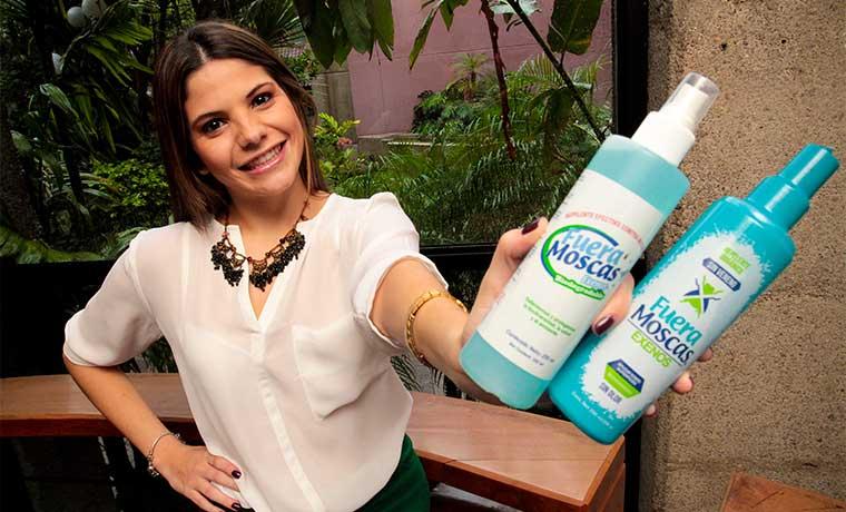Pyme tica encontró nicho en venta de repelentes biodegradables