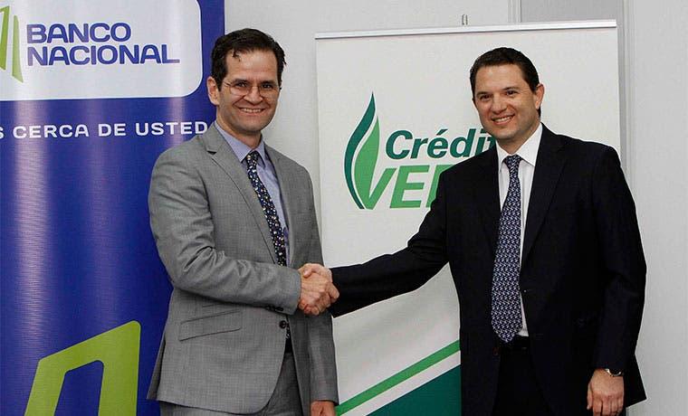 Banco Nacional y Promerica firman acuerdo para impulsar créditos verdes