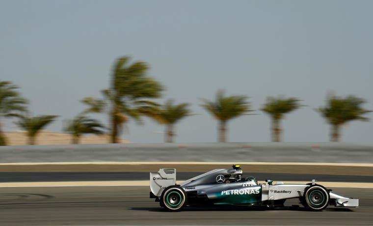 Rosberg va por su segunda victoria
