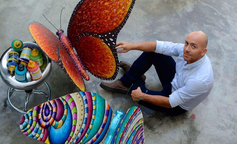 Mariposas gigantes migran hacia Lincoln Plaza