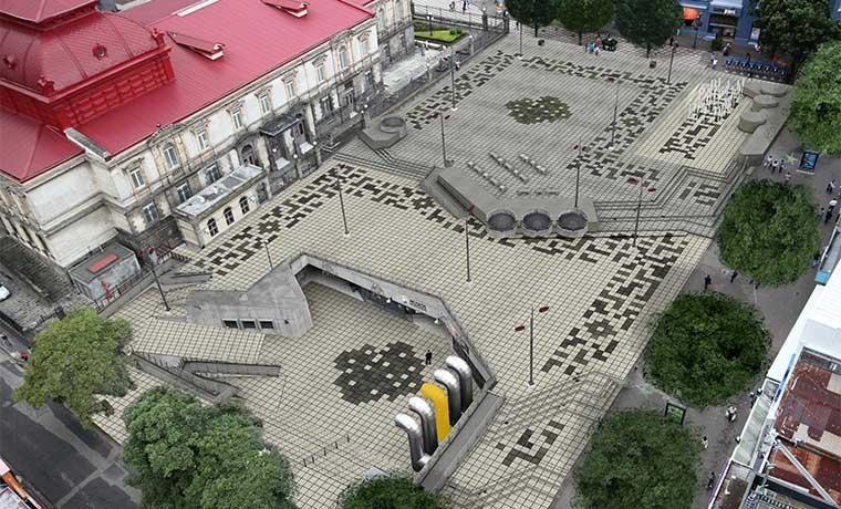 Renovación de la Plaza de la Cultura inicia hoy