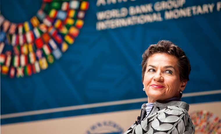 Christiana Figueres recibe reconocimiento por liderazgo ambiental