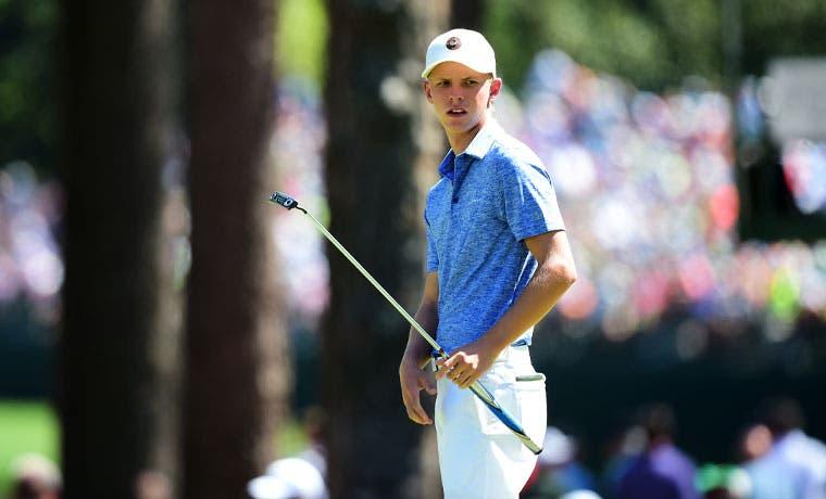 Golfista tico jugará con O'Meara y Lingmerth en Augusta