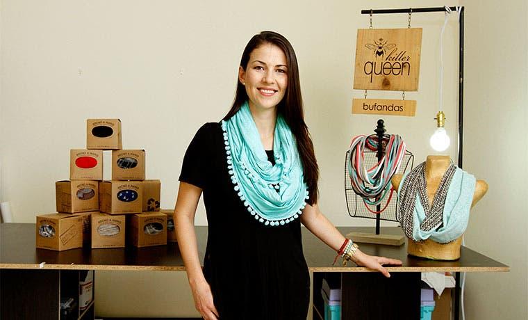"""Emprendedora transformó """"hobby"""" en negocio de tiempo completo"""