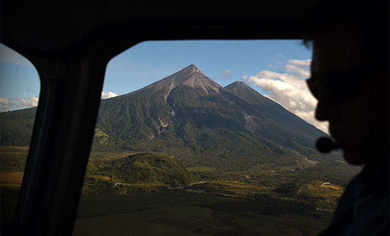 Volcanes de Guatemala tranquilos luego de un 2015 activos