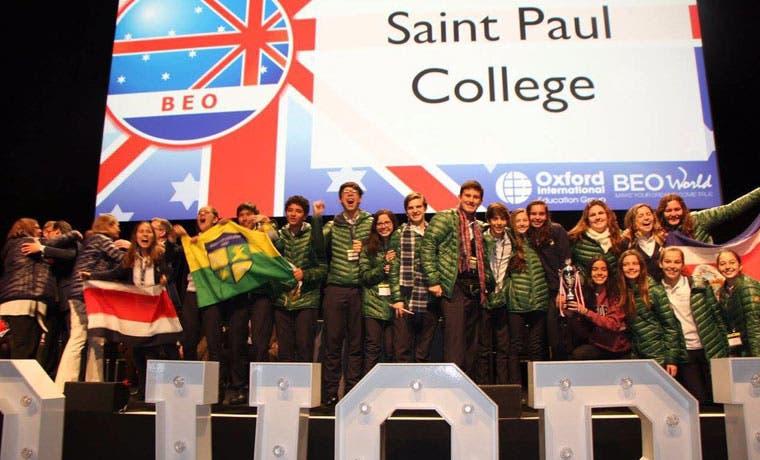 Colegio costarricense ocupó el tercer lugar en Olimpiadas mundiales de inglés