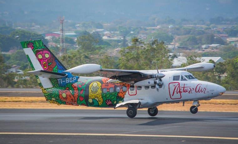 Nature Air lanza vuelos internos en ¢15 mil