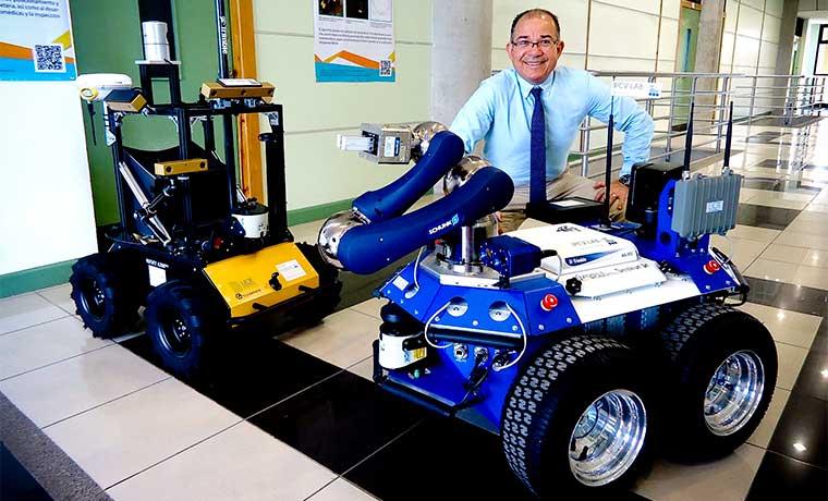 País desarrolla sistema de posicionamiento para robots espaciales