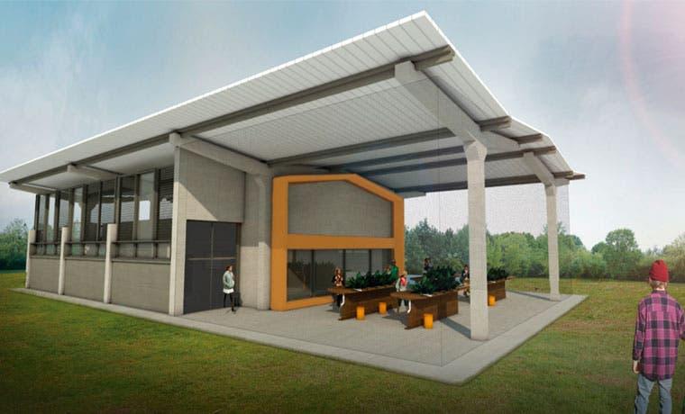 Primer edificio del país con material reciclado estará en Parque La Libertad