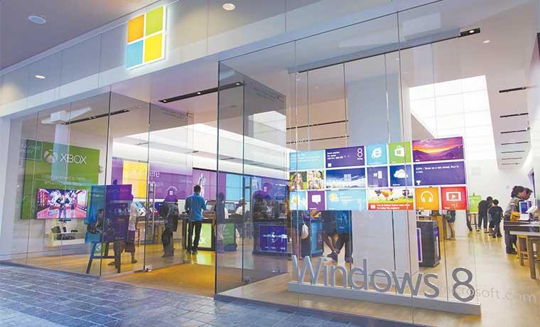 Microsoft baja al tropezar avance de plan de recuperación
