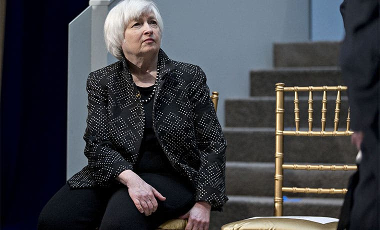 Señales europeas dan margen a Yellen para aumentar tasas