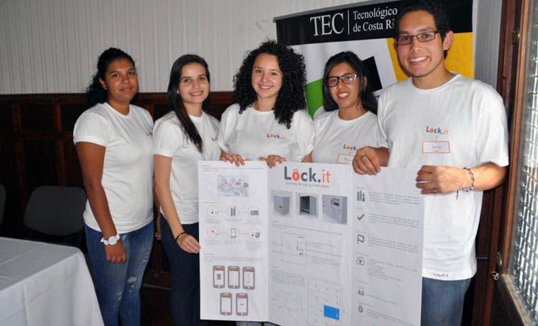 Proyecto de casilleros inteligentes gana Feria de Ideas de Negocios del TEC