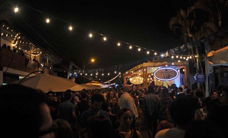 30 mil personas asistieron al Paseo Gastronómico La Luz