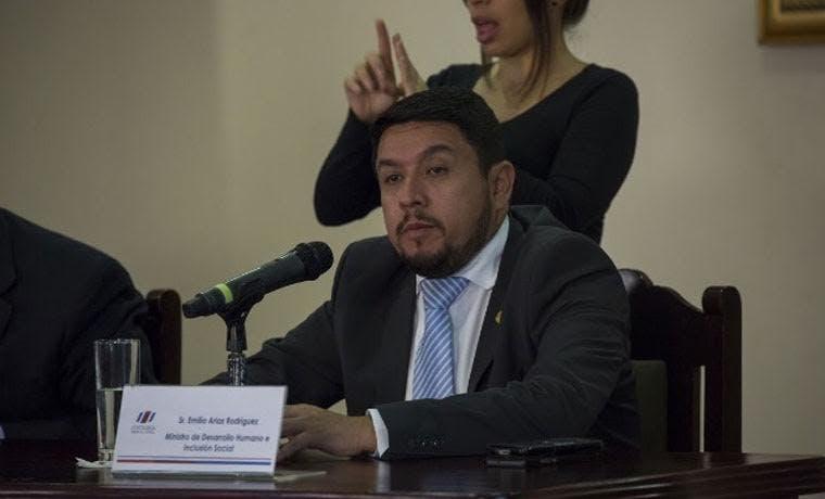Emilio Arias es el nuevo ministro de Desarrollo Humano