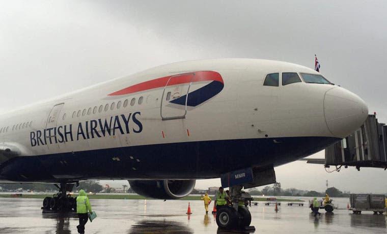 British Airways inaugura vuelo directo a Londres