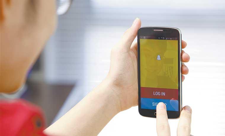 Contenidos de usuarios impulsan auge de videos en Snapchat
