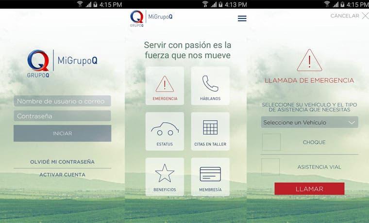 App MiGrupoQ ofrece a clientes servicio de mantenimiento y mecánica