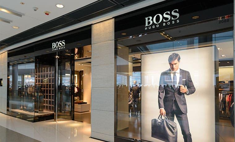 Hugo Boss analiza cierre de algunas tiendas por bajas ganancias