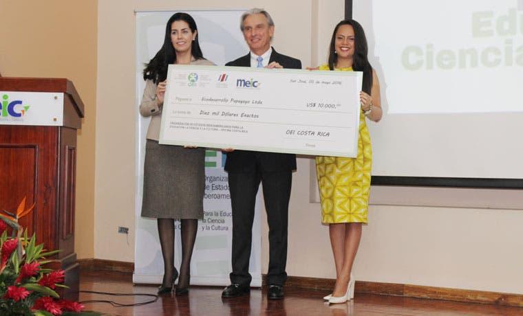 Ecodesarrollo Papagayo recibió reconocimiento por labor comunitaria