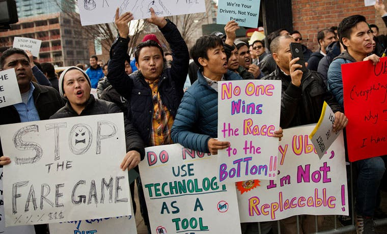 Uber acordó formar un sindicato para sus conductores en Nueva York