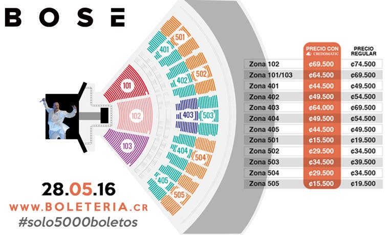 Adelanta más detalles del concierto de Bosé