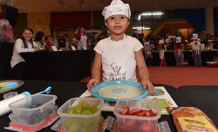 Pequeños chefs prepararon sus propias recetas saludables