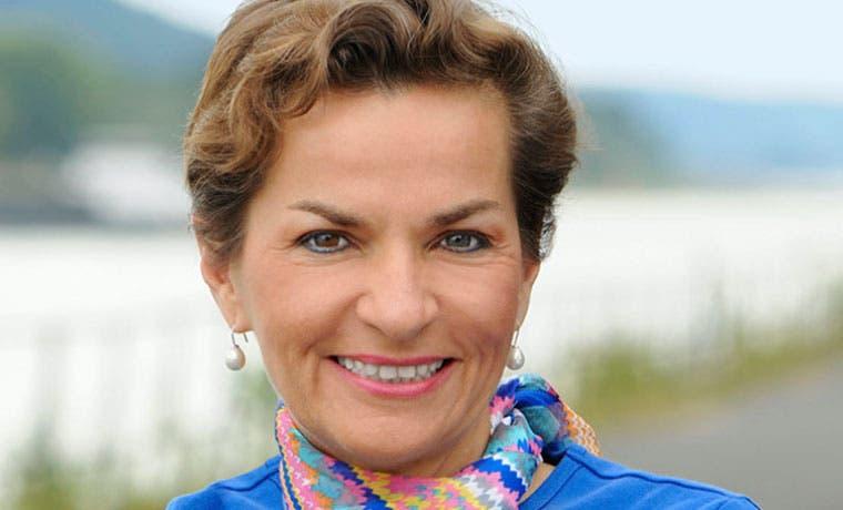 Christiana Figueres recibió premio a sostenibilidad Joan Bavaria