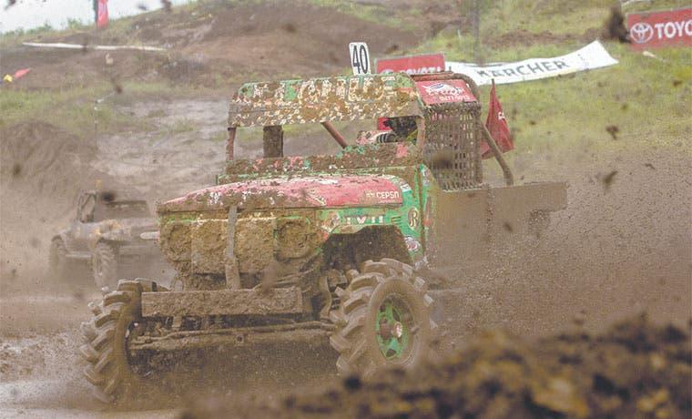 Autocross repite en La Olla