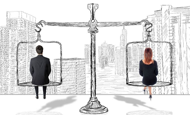 Igualdad de género laboral en EE.UU. no es tan deficiente