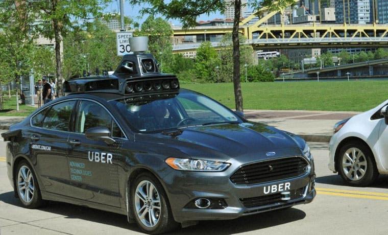 Uber probará vehículo autónomo en Estados Unidos