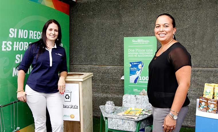 Dos Pinos celebró el Día del Reciclaje