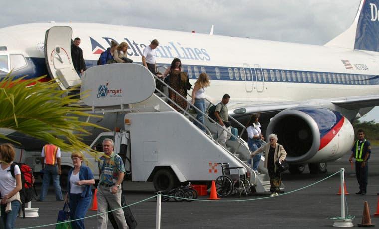 Marzo fue el mes más transitado en Aeropuerto de Liberia