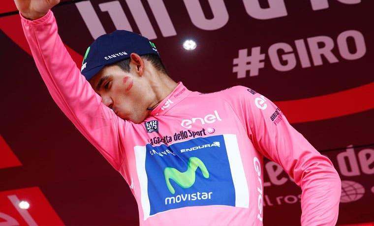 Andrey Amador es el nuevo líder del Giro de Italia